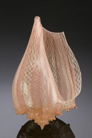Glass artist Silkwood glass